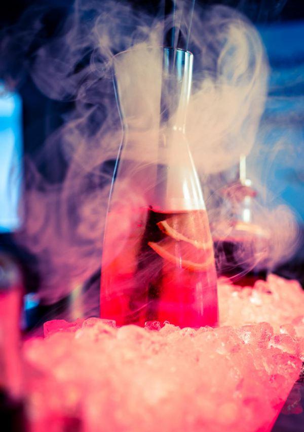 Summer smoked Ice Tea
